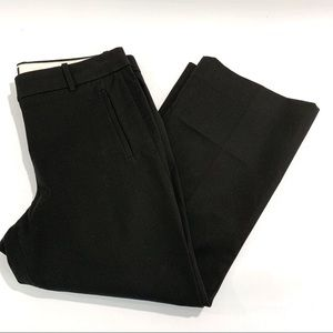 J. Crew Black Petite Teddie Crop Pants Career